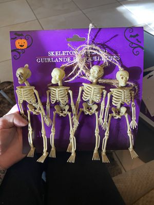 Halloween Skeleton garland for Sale in Clearwater, FL