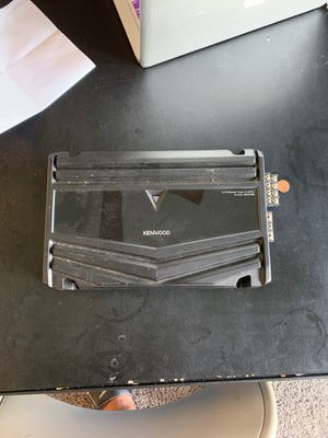 Car amp Kenwood for Sale in Indianapolis, IN