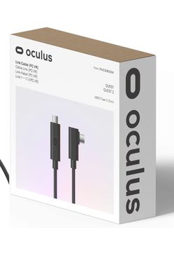 Oculus Link Virtual Reality Headset Cable for Quest 2 and Quest - 16FT (5M) - PC VR for Sale in Canal Winchester,  OH