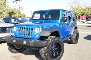 2016 Jeep Wrangler Unlimited for Sale in Fresno, CA