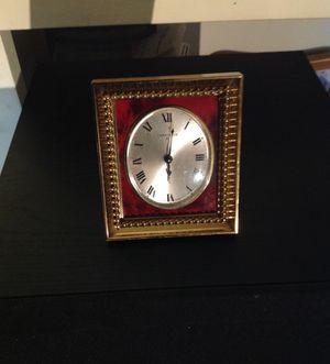 Beatifull antique carabelle desk clock for Sale in Phoenix, AZ