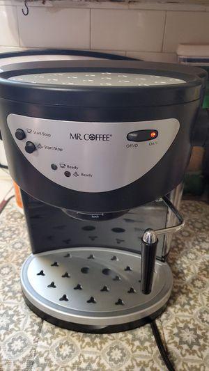 Mr.Coffee Espresso and Cappuccino Coffee Maker for Sale in San Antonio, TX