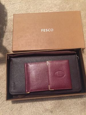 fresco small and big wallet for Sale in Adelphi, MD