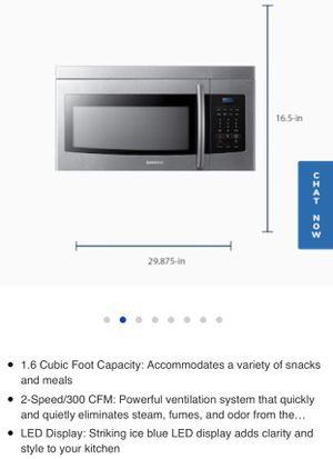 Brand new Samsung Microwave for Sale in Kissimmee, FL