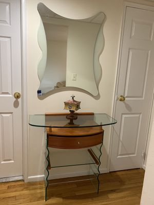 Entryway console and mirror for Sale in Cliffside Park, NJ