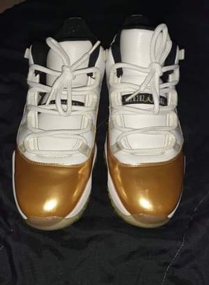 "Jordan 11s "" Closing Ceromony "" white and gold for Sale in Los Angeles, CA"