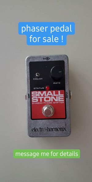 Phaser guitar pedal - Electro-Harmonics Small Stone for Sale in Grand Rapids, MI