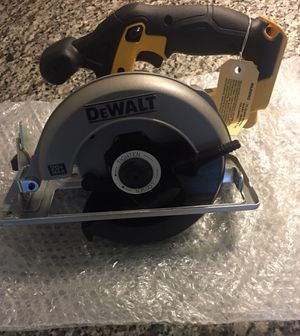 """Dewalt DCS393 bare tool 20V MAX 6 1/2"""" circular saw Tool Only for Sale in Lawrenceville, GA"""