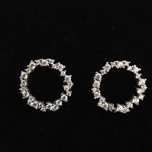 APM 18k gold with diamonds earrings for Sale in New York, NY