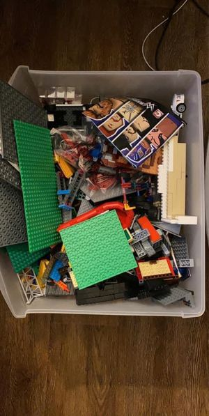 Box filled of legos for Sale in Portland, ME