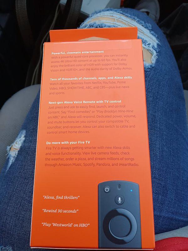 Fire tv stick 4k new
