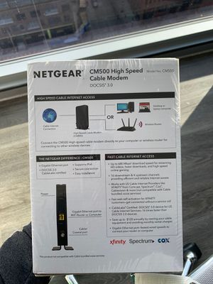 Netgear CM500 modem - in box unopened for Sale in Chicago, IL