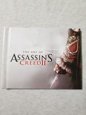 The Art of Assassins Creed 2 Art Book 25 pages with pictures for Sale in Gurnee, IL