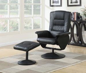 2pcs PACK CHAIR RECLINER & OTTOMAN for Sale in Hialeah, FL