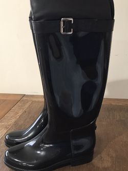 Black / Size 8 / (Brand New & unused) Knee high Rain Boots for Sale in Los Angeles,  CA