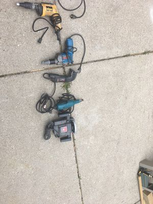 Power tools 2 for $30 tool working condition for Sale in Melrose Park, IL