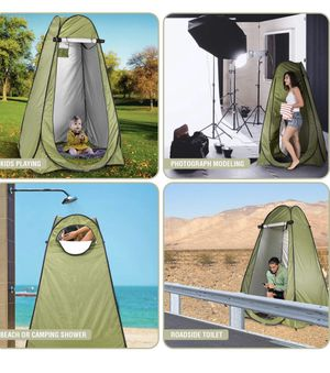 Easy pop up 6ft Camping Tent For Shower Changing Room For Camping Biking Toilet Shower Beach for Sale in ROWLAND HGHTS, CA