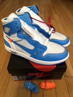 Jordan 1 Off-White UNC Size 11 DS for Sale in Annandale, VA