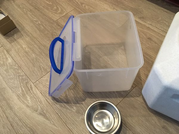 Dog and Cat Food Containers!!