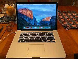"""MacBook Pro 15"""" Pre-Retina / CORE i7 2.8GHZ / 500GB SSD for Sale in Anselmo, NE"""