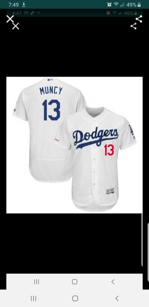 LA DODGERS MAX MUNCY JERSEY SIZE MED-2XL 100% STITCHED for Sale in Colton, CA