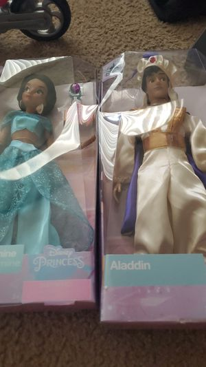 Brand new Aladdin and jasmine for Sale in Claremont, CA