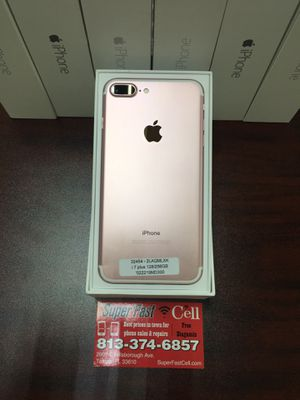 ⌚️💧⌚️💧iPhone 7 Plus 128 GB factory unlocked with warranty for Sale in Tampa, FL