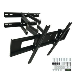 "New Universal Wall TV Mount Fits 32"" to 65"" TV Sizes Swivel Full Motion Tilt Heavy Duty Dual Arms include tv bracket hardware and screws for Sale in Whittier, CA"