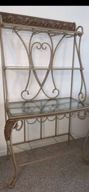 Bakers wine rack for Sale in Port St. Lucie, FL
