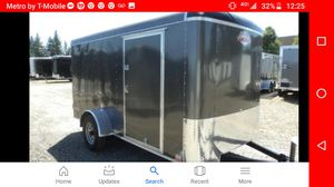 6x12 enclosed trailer 2018 for Sale in Happy Valley, OR