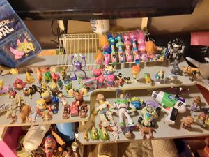 Trolls Toy Story Shrek minions SpongeBob and more make me a offer for all$30 for Sale in Lawndale, CA