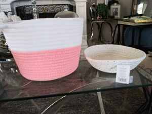 3 woven baskets for Sale in Pomona, CA