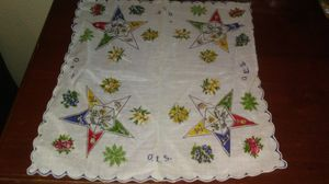 Masonic Order Of Eastern Stars Handkerchief for Sale in Oroville, CA