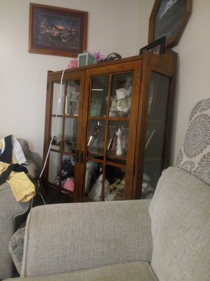 Glass cabinet for Sale in Dunbar, WV