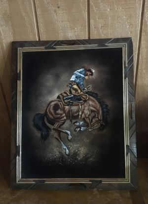 Handpainted Cowboy for Sale in Murfreesboro, TN