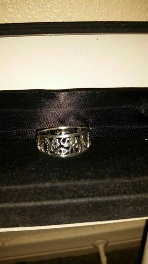 Lucky ring size 12 sterling silver new for Sale in Anaheim, CA
