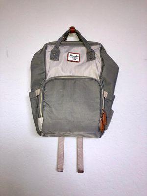 Waterproof Baby Diaper Dokoclub Bag Multi Function Gray Backpack for Sale in Orlando, FL