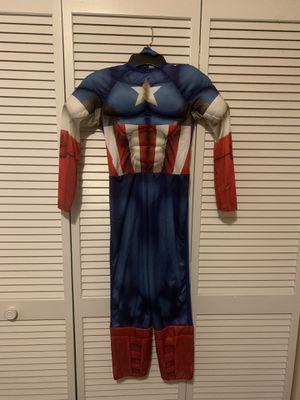 Boys Captain America Costume for Sale in Davie, FL