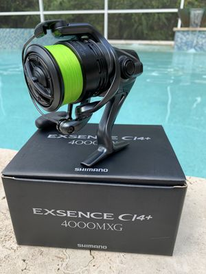 Brand New Shimano Exsence Ci4+ 4000MXG Spinning Reel - JDM - High end Fishing reel!! Rare find! for Sale in Zephyrhills, FL
