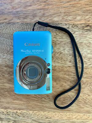 Canon Powershot SD1200 Digital Camera for Sale in Solana Beach, CA