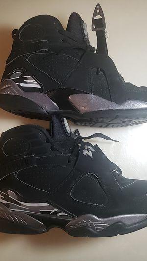 Jordan Air Jordan Retro 8 Chrome Vintage size 9.5 mens sneaker shoe for Sale in Orlando, FL