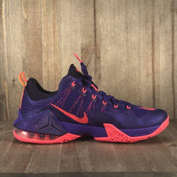 factory authentic c83c5 6d4cd Nike Lebron XII Purple Grapes Size 12 VNDS