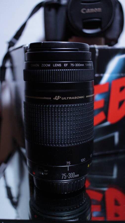 Canon T4i + 75-300mm lens