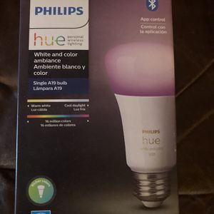 Philips Hue Color Bulb Gen 4 for Sale in San Leandro, CA