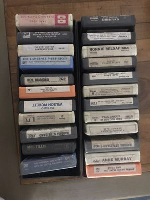 23 8-track tapes for Sale in Clearwater, FL