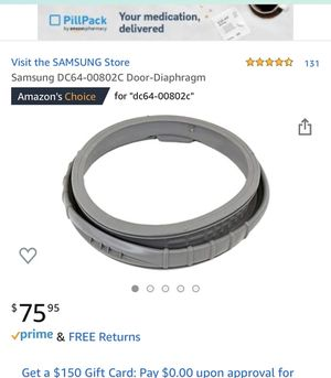 Samsung door diaphragm for Sale in Bakersfield, CA