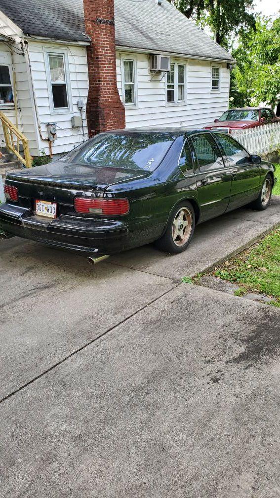 1996 Chevy impala ss