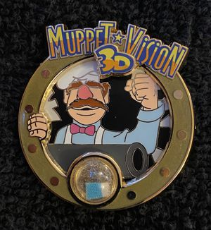 Disney Pin #199, LE (1500), 2014, A Piece of Disneyland Resort History, Muppet Vision 3D for Sale in San Diego, CA