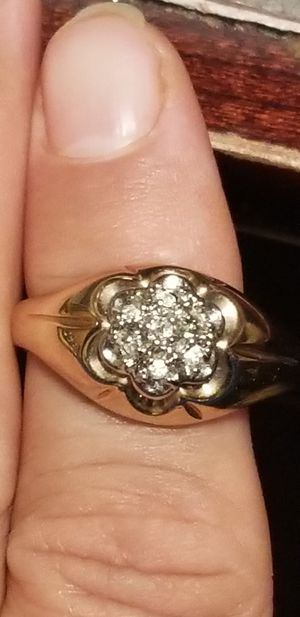 MENS 18K GEP RING for Sale in Fairfax, VA