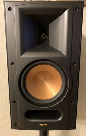 Klipsch RB-61 II Reference Series Bookshelf , Black (Pair) for Sale in Canby, OR